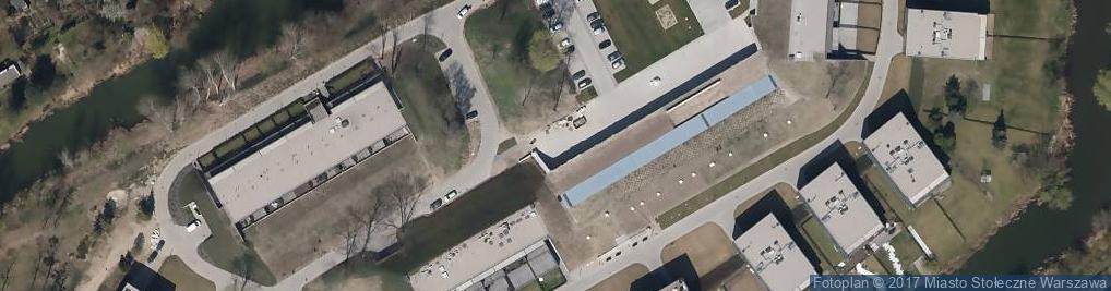 Zdjęcie satelitarne Fort Piłsudskiego
