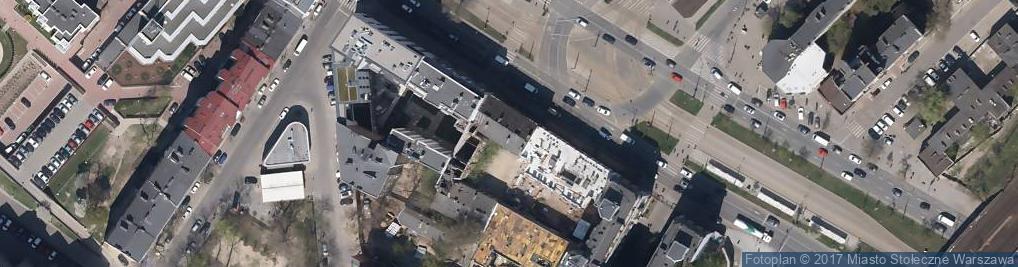 Zdjęcie satelitarne Sklep Wielobranżowy Marzenie Krystyna Falba Marzena Falba