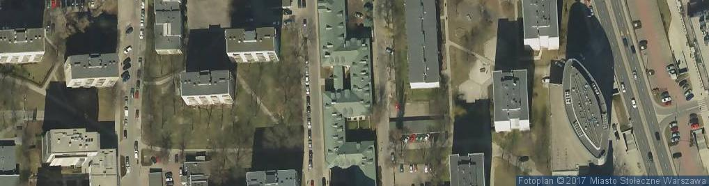 Zdjęcie satelitarne Franciszkanie reformaci
