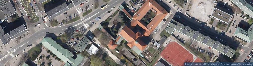 Zdjęcie satelitarne Parafia Rzymskokatolicka i Klasztor św. Antoniego z Padwy