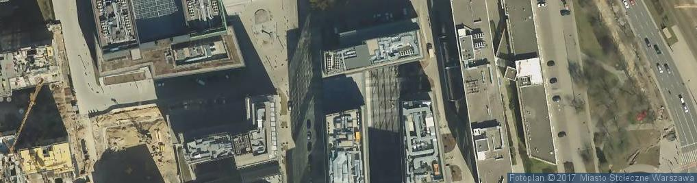 Zdjęcie satelitarne Frankie's