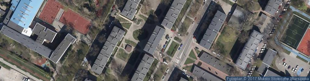 Zdjęcie satelitarne Fryzjerstwo Damskie
