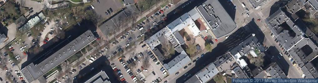 Zdjęcie satelitarne Fryzjerstwo Małgośka
