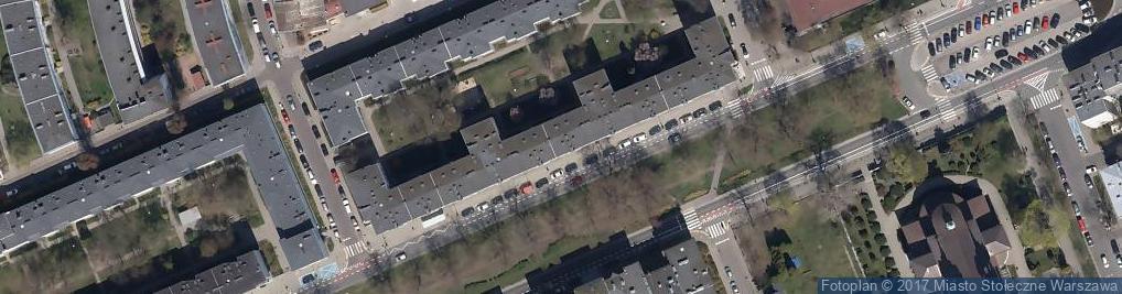 Zdjęcie satelitarne Fryzjerstwo Męskie