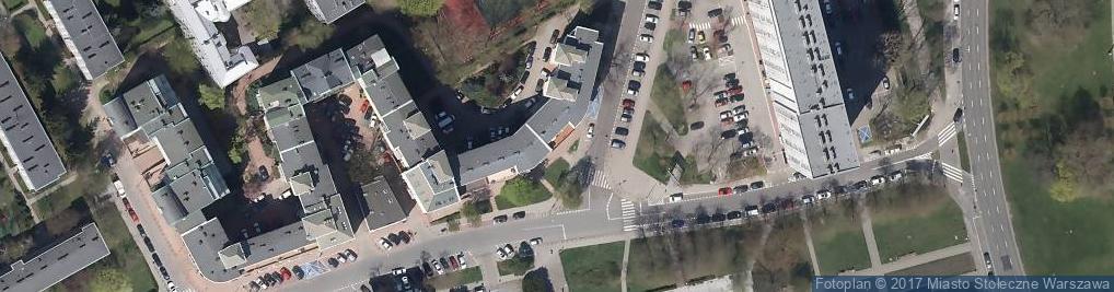 Zdjęcie satelitarne La Bella Usługi Fryzjersko-Kosmetyczne Monika Szylbert