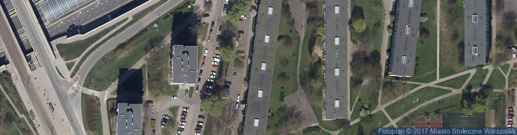 Zdjęcie satelitarne Usługi Fryzjerskie