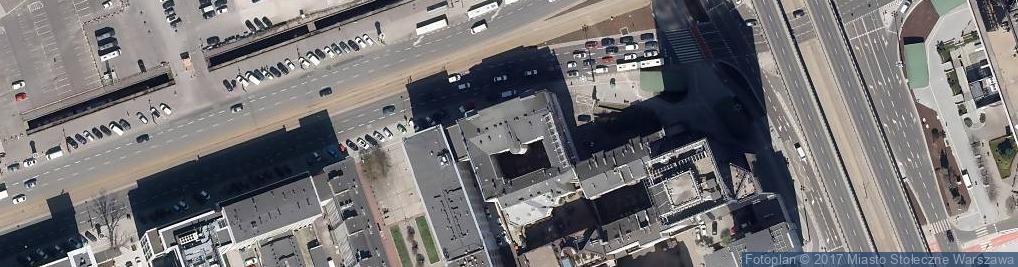 Zdjęcie satelitarne Hermes Stowarzyszenie Greckich Przedsiębiorców w Polsce