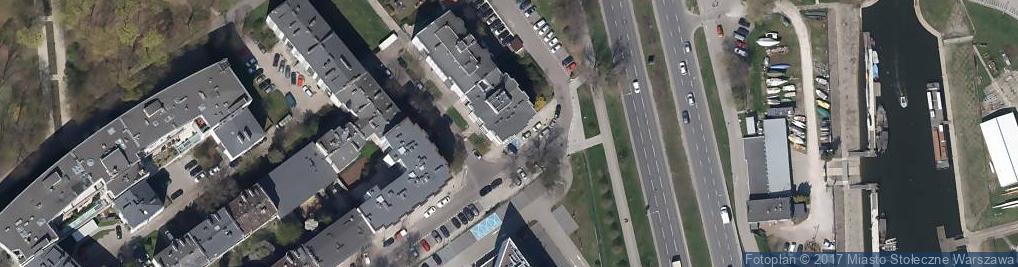 Zdjęcie satelitarne Polskie Zrzeszenie Kung Fu - Wushu