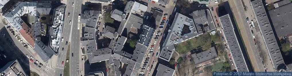 Zdjęcie satelitarne Stowarzyszenie Uniwersytet Drugiego i Trzeciego Wieku Zdrowia i Sztuki