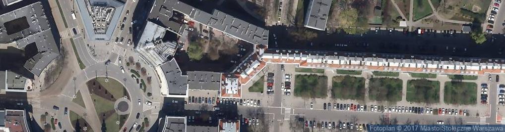 Zdjęcie satelitarne Queen