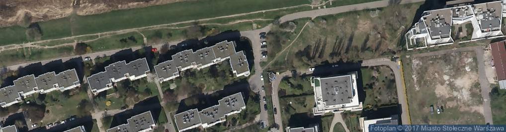 Zdjęcie satelitarne Malarstwa Sztalugowego - Krzysztof Trzaska