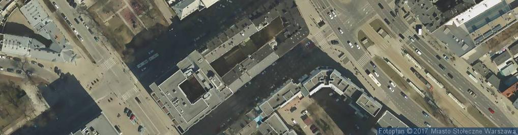 Zdjęcie satelitarne Praska