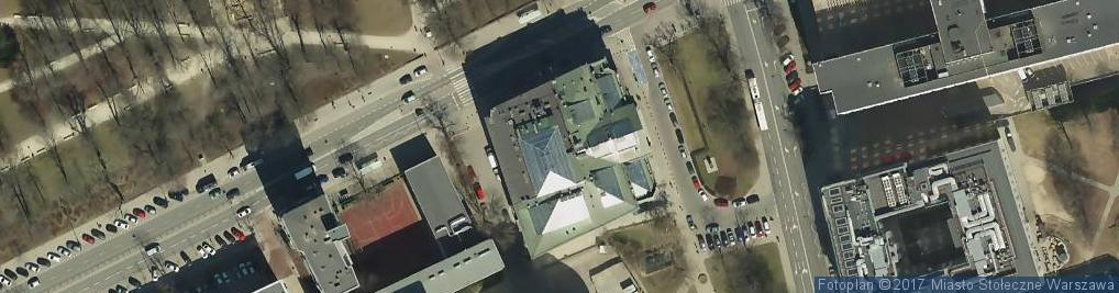Zdjęcie satelitarne Zachęta - Narodowa Galeria Sztuki