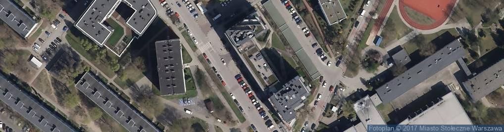 Zdjęcie satelitarne Globi
