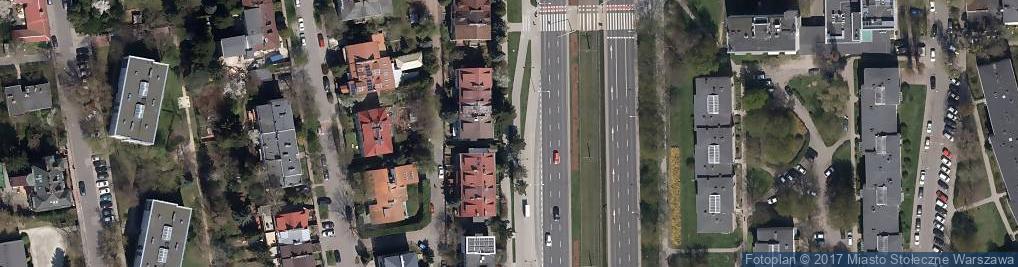 Zdjęcie satelitarne Pokoje Gościnne Mira Rent House