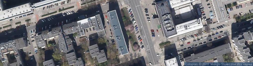 Zdjęcie satelitarne Bar Wegetariański Green Way