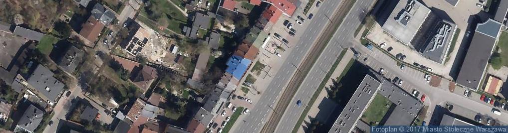 Zdjęcie satelitarne Restauracja gruzińska TAMADA