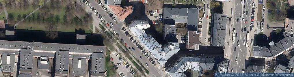 Zdjęcie satelitarne Gusto Dominium - Pizzeria