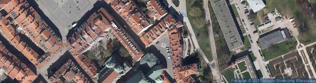 Zdjęcie satelitarne Kanonia Hostel