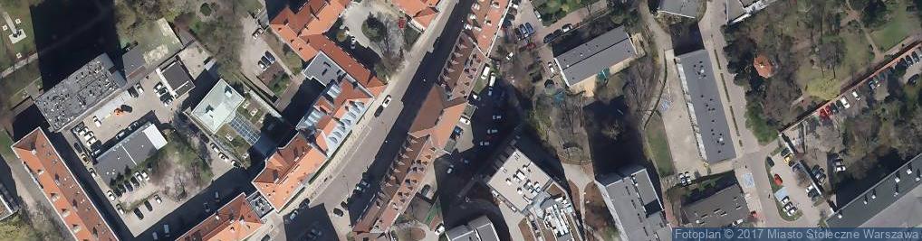 Zdjęcie satelitarne Metalowcy