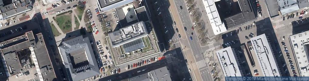 Zdjęcie satelitarne HSBC - Oddział