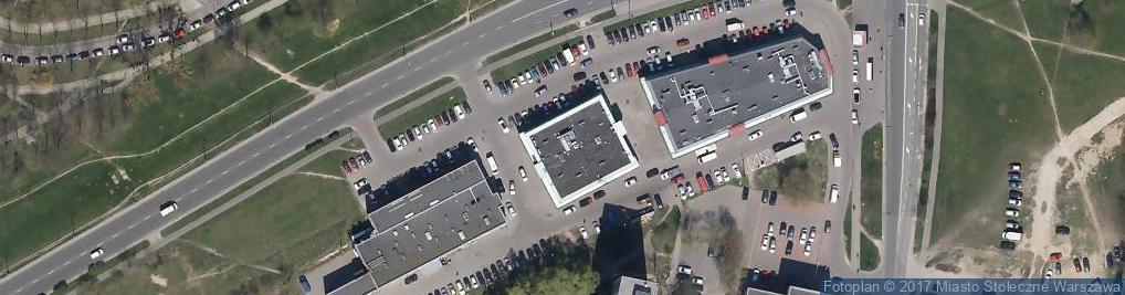 Zdjęcie satelitarne OM Restauracja