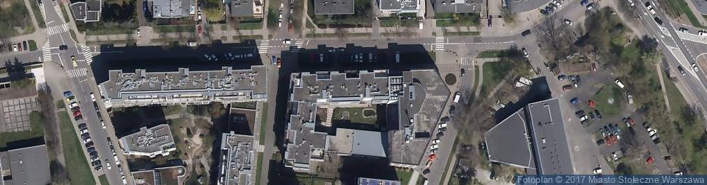 Zdjęcie satelitarne Instytut Kosmetyki XXI wieku Dermika SPA & Salon