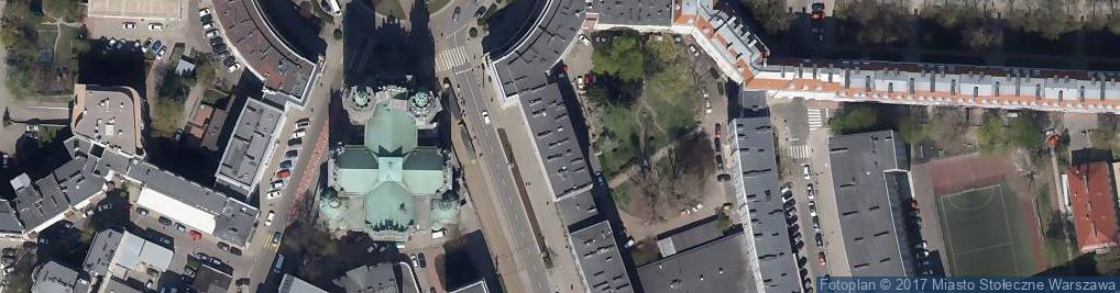 Zdjęcie satelitarne Anna Olejak-Budnikowska Kancelaria Adwokacka