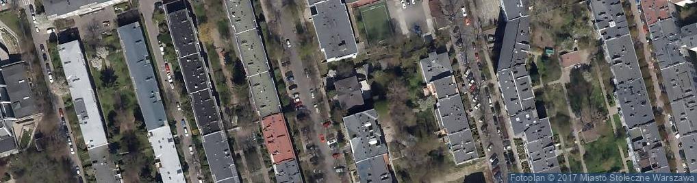 Zdjęcie satelitarne Leśnodorski Ślusarek