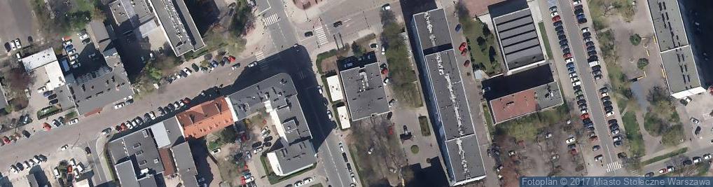 Zdjęcie satelitarne Oberża pod Czerwonym Wieprzem
