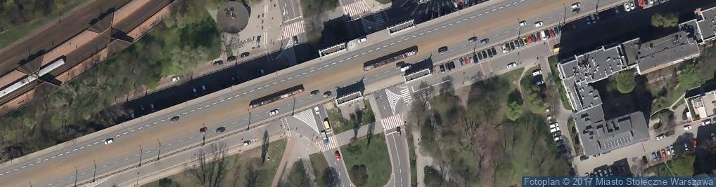 Zdjęcie satelitarne Kawiarnia 'Cafeteria Pod Mostem'
