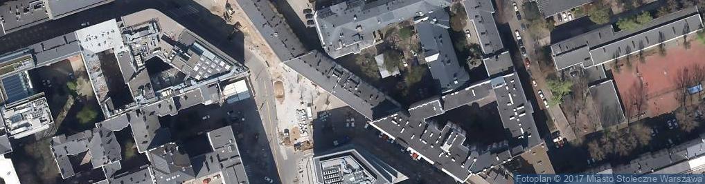 Zdjęcie satelitarne Między Nami