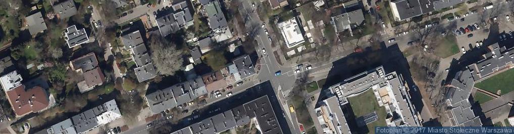 Zdjęcie satelitarne Efes Kebab