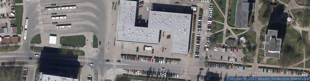 Zdjęcie satelitarne Irenka