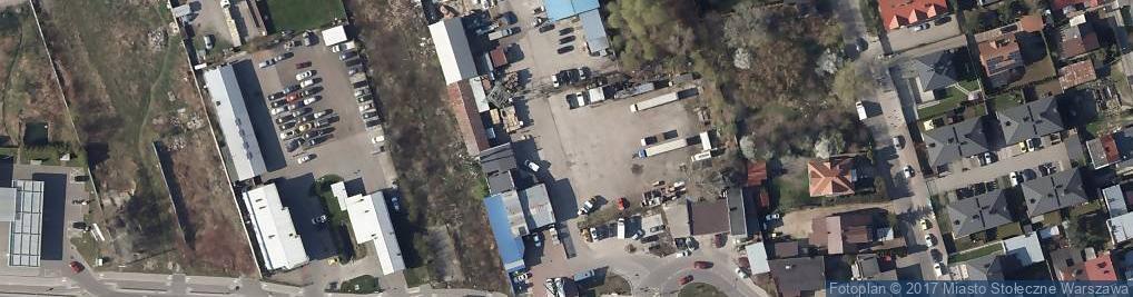 Zdjęcie satelitarne P H U Klimamika