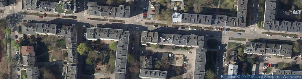 Zdjęcie satelitarne Grochownia Aleksandra Stępień