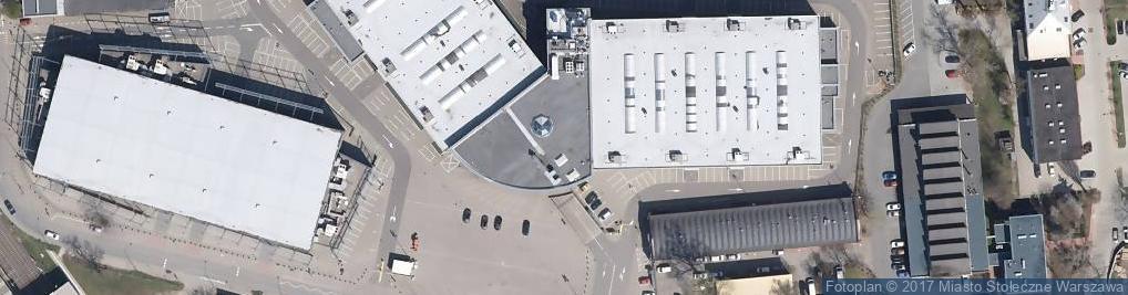 Zdjęcie satelitarne EXPO XXI Warszawa