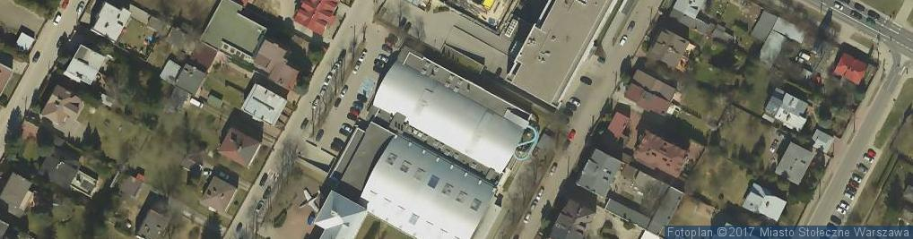 Zdjęcie satelitarne OSiR Włochy
