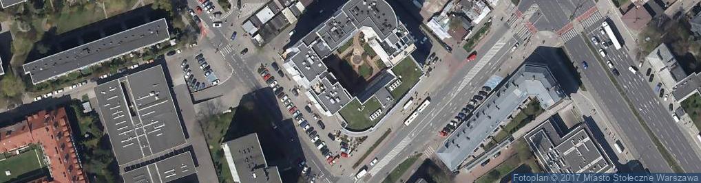 Zdjęcie satelitarne Droxe Zakład Usług Kserograficznych