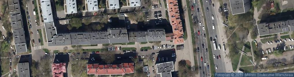 Zdjęcie satelitarne Ksero