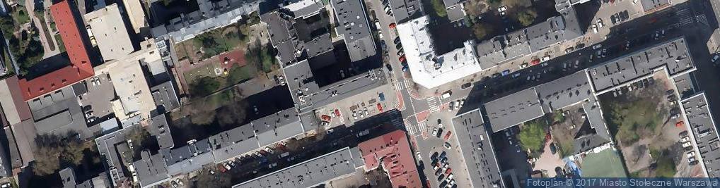 Zdjęcie satelitarne Wilcza 50