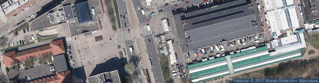 Zdjęcie satelitarne Kwiaciarnia