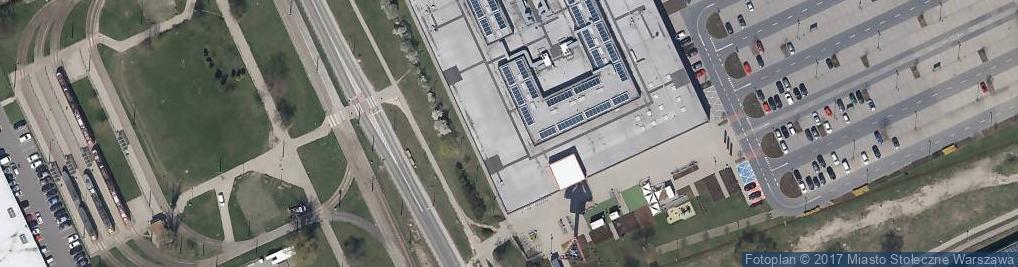 Zdjęcie satelitarne Levi's