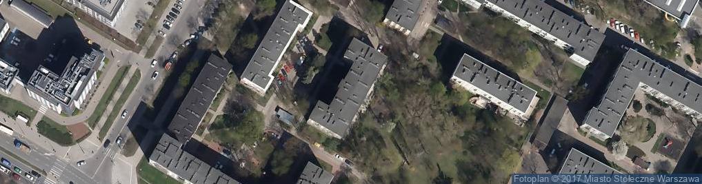 Zdjęcie satelitarne Akademickie Liceum Ogólnokształcące Przy Pjatk
