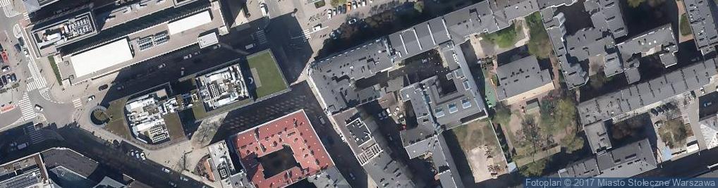 Zdjęcie satelitarne Druktur Sp. z o.o. Liceum Ogólnokształcące nr 65