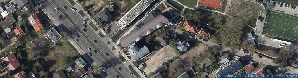 Zdjęcie satelitarne Międzynarodowe Europejskie Liceum Ogólnokształcące Im. Jana Kułakowskiego W Warszawie-International European School*warsaw