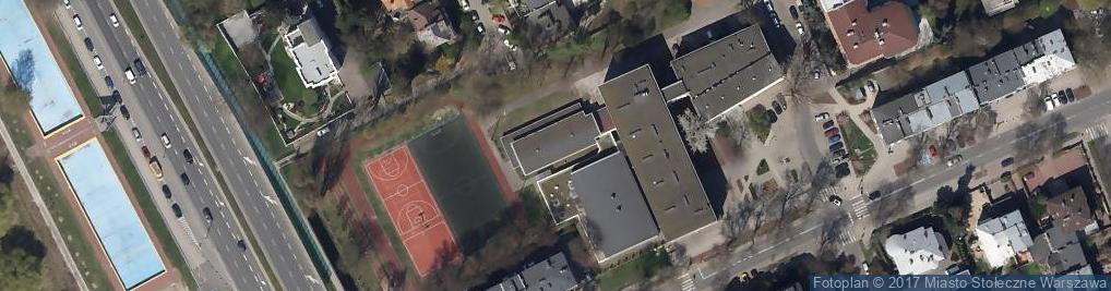 Zdjęcie satelitarne Prywatne Liceum Ogólnokształcące nr 56