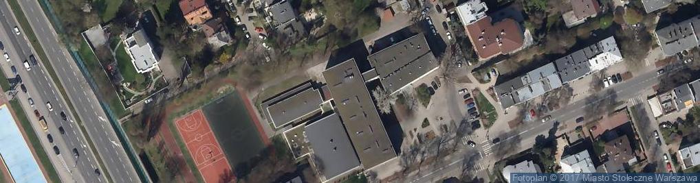 Zdjęcie satelitarne Xxxv Liceum Ogólnokształcące Z Oddziałami Dwujęzycznymi Im. Bolesława Prusa