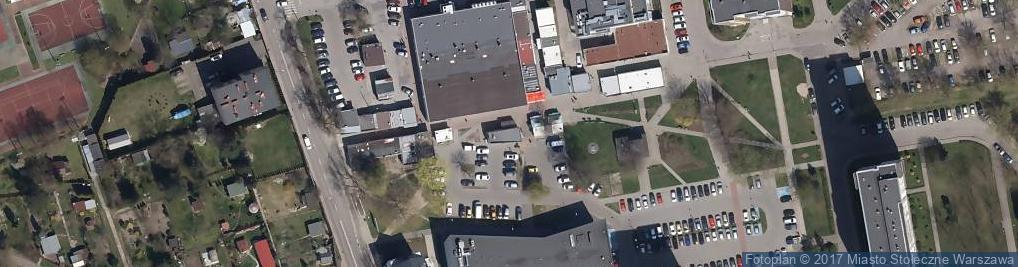 Zdjęcie satelitarne Lubaszka - Piekarnia