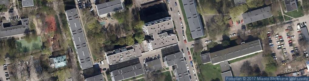 Zdjęcie satelitarne Dr Dębski. Klinika Chirurgii Plastycznej
